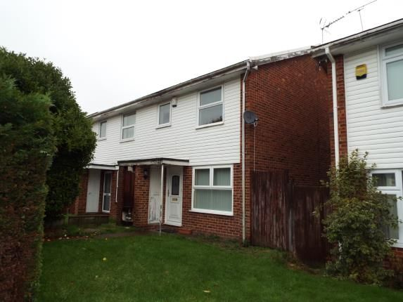 Thumbnail End terrace house for sale in Rushmead Close, Canterbury, Kent, England