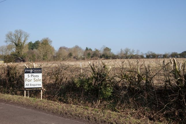 Thumbnail Land for sale in Ploughboy Lane, Saham Hills, Thetford