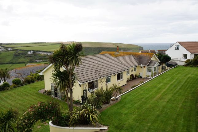 Thumbnail Detached bungalow for sale in Gwel-An-Mor, Mawgan Porth