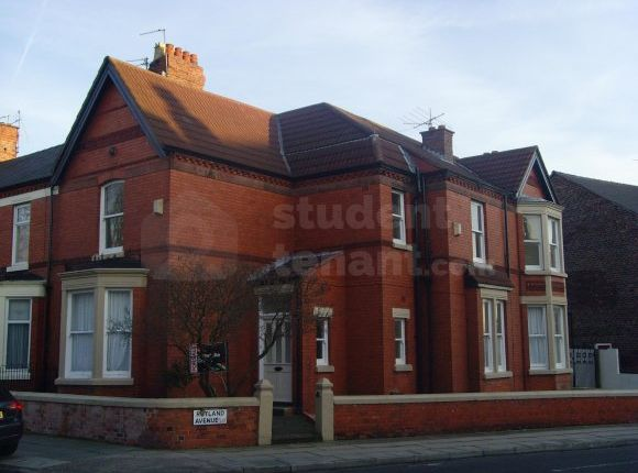 Thumbnail Shared accommodation to rent in Rutland Avenue, Liverpool, Merseyside