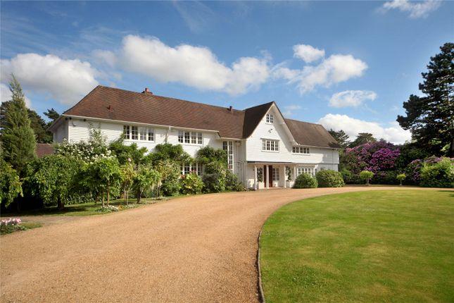 Thumbnail Detached house to rent in Ridgemount Road, Sunningdale, Berkshire