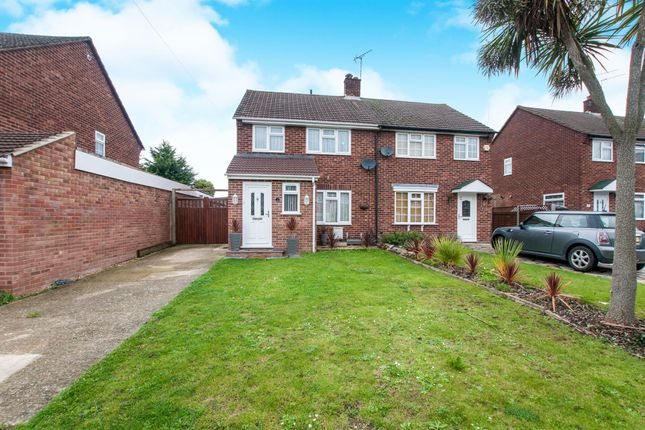 3 bed semi-detached house for sale in Wethered Drive, Burnham, Slough