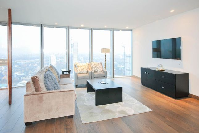 Thumbnail Flat to rent in The Tower, One St. George Wharf, Nine Elms, London