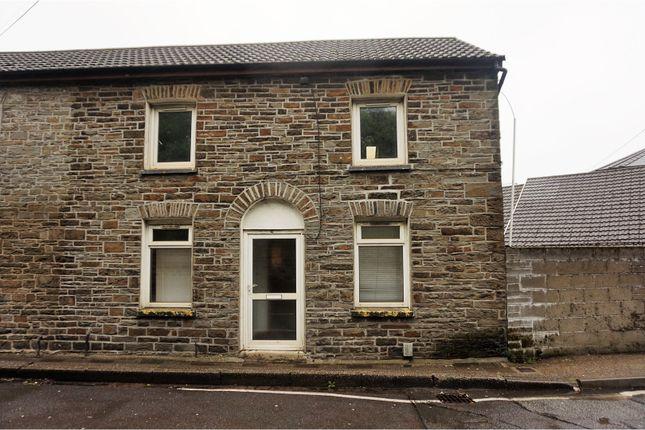Thumbnail End terrace house for sale in Park Street, Pontypridd