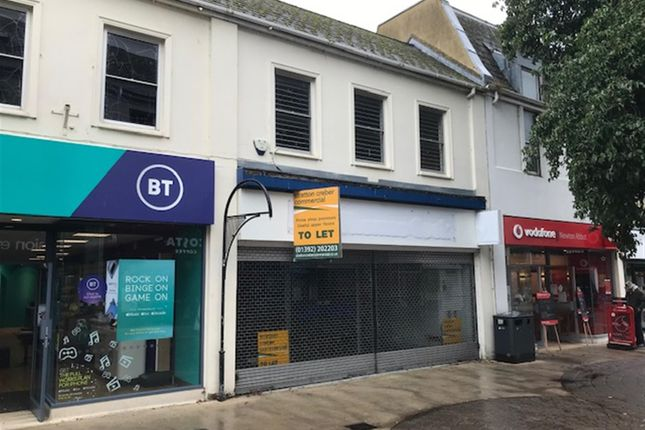 Thumbnail Retail premises to let in Primary Retail Trading Premises To Let TQ12, Devon