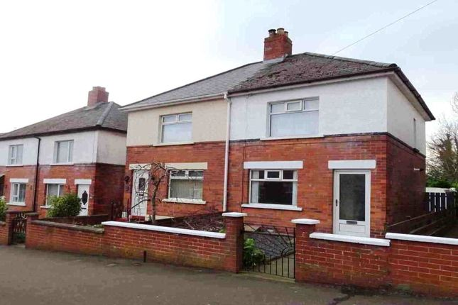 Thumbnail Semi-detached house for sale in Dunraven Park, Bloomfield, Belfast