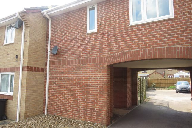 Thumbnail Terraced house for sale in Thistle Close, Thetford