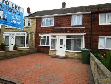 Thumbnail Terraced house to rent in Raeburn Road, South Shields