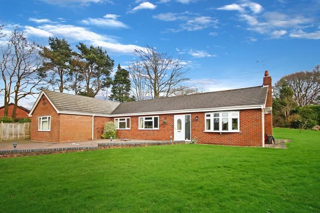 Thumbnail Bungalow for sale in Newcastle Road, Loggerheads, Market Drayton