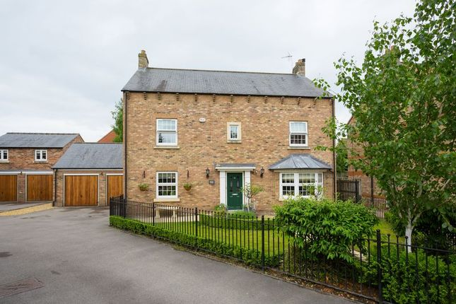 Thumbnail Detached house for sale in The Garden Village, Earswick, York