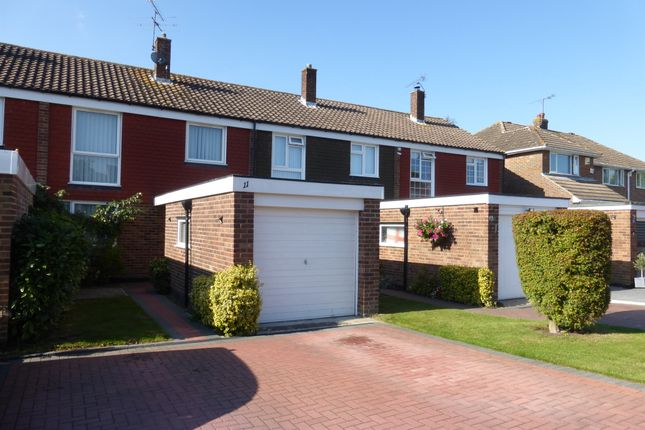 Thumbnail Terraced house for sale in Fairway, Copthorne, Crawley