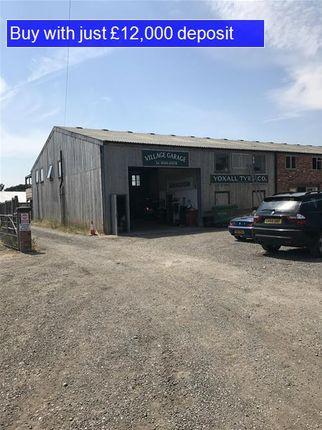 Parking/garage for sale in DE13, Yoxall, Staffordshire