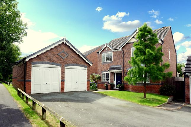 Thumbnail Detached house for sale in Shackleton Way, Bicton Heath, Shrewsbury