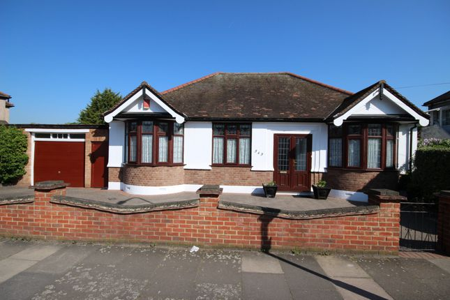 Thumbnail Bungalow to rent in Mortlake Road, Ilford, Essex
