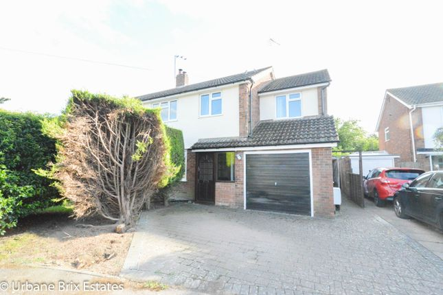 Thumbnail Semi-detached house for sale in Lammas Road Cheddington, Leighton Buzzard