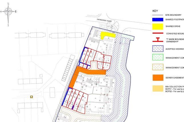 Site Plan of Swinderby Road, Collingham, Newark NG23