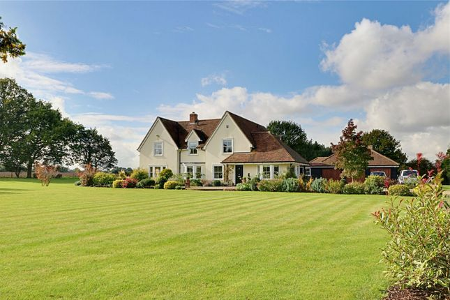 Thumbnail Detached house for sale in High Easter Road, Barnston, Dunmow, Essex