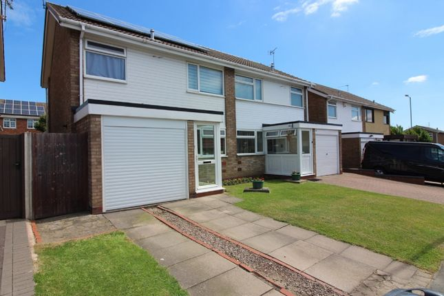 3 bed semi-detached house for sale in Bewley Road, Willenhall WV12