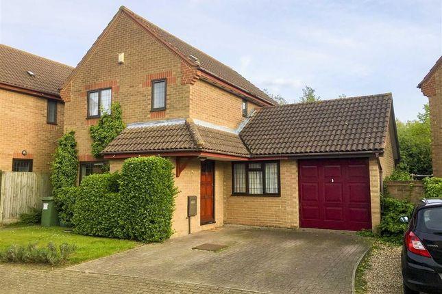 Thumbnail Link-detached house for sale in Longhedge, Caldecotte, Milton Keynes, Bucks