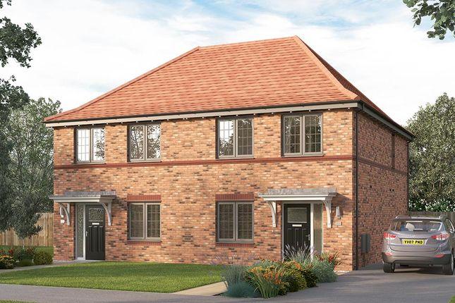 "Thumbnail Semi-detached house for sale in ""The Lorton Semi"" at Myton Green, Europa Way, Warwick"