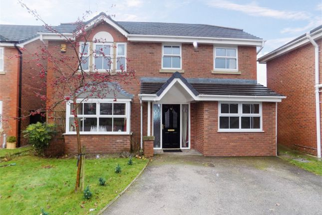 Thumbnail Detached house for sale in Poplar Drive, Coppull, Chorley, Lancashire