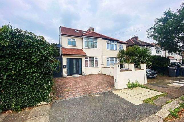 Thumbnail Semi-detached house to rent in Aberdare Gardens, Mill Hill, London