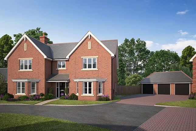 "Thumbnail Detached house for sale in ""Rowan House"" at Kendal End Road, Barnt Green, Birmingham"