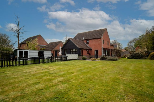 Thumbnail Detached house for sale in Orchard Close, Gislingham, Eye