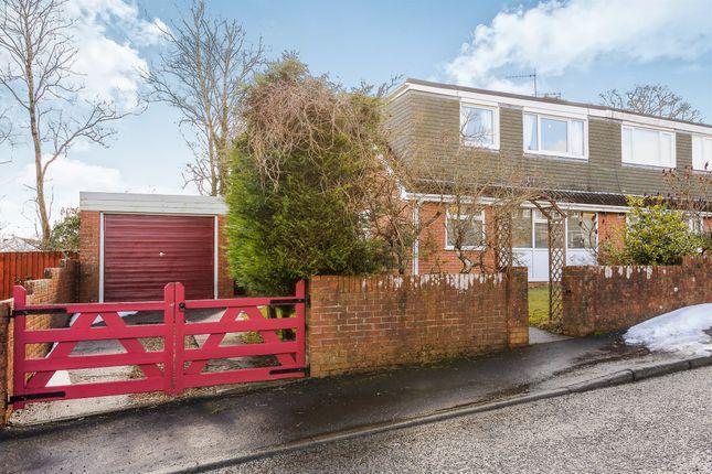 Thumbnail Semi-detached bungalow for sale in Salisbury Close, Heolgerrig, Merthyr Tydfil