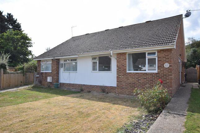 Thumbnail Semi-detached bungalow to rent in Bramble Drive, Hailsham, East Sussex