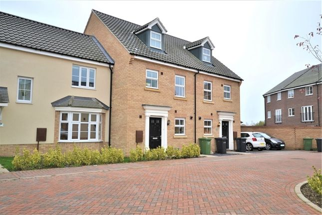 Thumbnail Terraced house to rent in Russell Close, King's Lynn