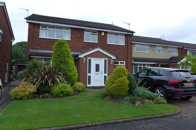 Thumbnail Detached house for sale in Oldbury Close, Hopwood, Heywood