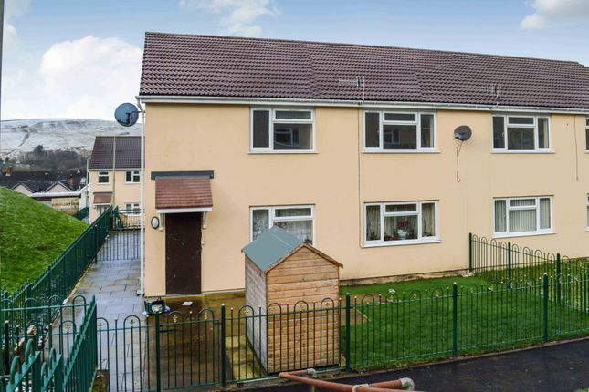 Thumbnail Flat to rent in Rowan Place, Rhymney, Tredegar