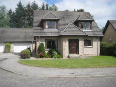 Thumbnail Detached house to rent in Whiterashes, Kingswells, Aberdeen