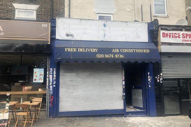 Thumbnail Retail premises for sale in 220, Brixton Hill, Brixton