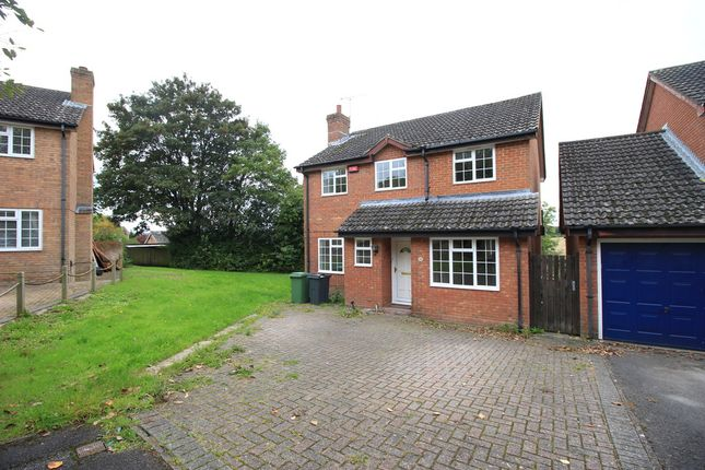 Thumbnail Detached house to rent in Frampton Way, Kings Worthy, Winchester