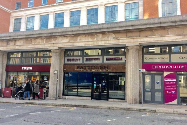 Thumbnail Restaurant/cafe for sale in Hatton Garden, Liverpool