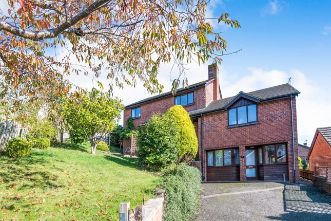 Thumbnail Detached house for sale in Valley Park Close, Exeter