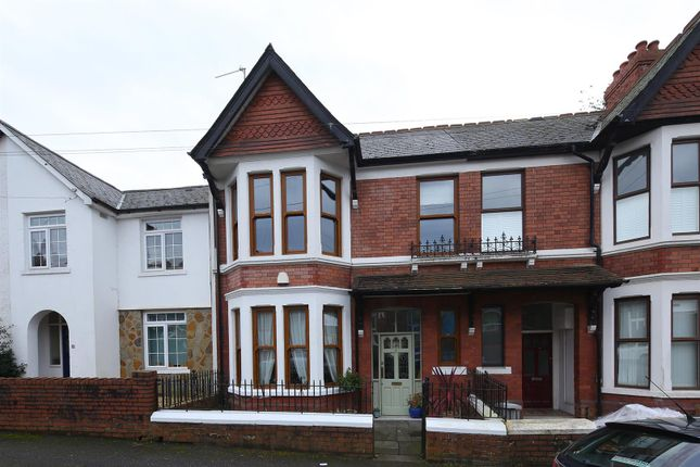 Thumbnail Terraced house for sale in Burlington Terrace, Cardiff