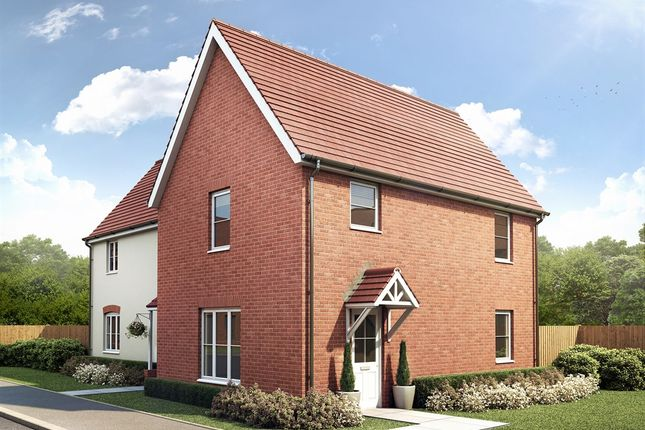 "Thumbnail Semi-detached house for sale in ""The Birkhall "" at Carsons Drive, Great Cornard, Sudbury"
