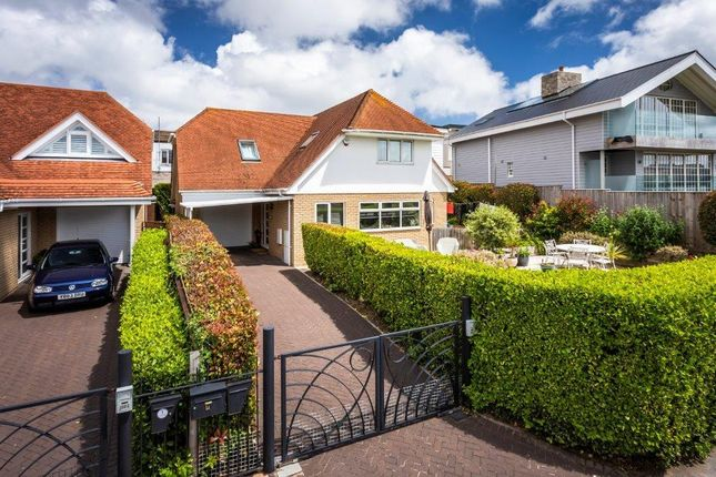 Thumbnail Detached house for sale in Dorset Lake Avenue, Lilliput, Poole