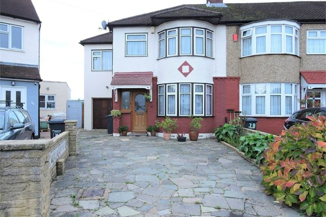 Thumbnail Terraced house for sale in Lodge Crescent, Waltham Cross, Hertfordshire