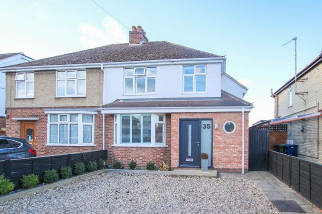 Thumbnail Semi-detached house for sale in Merton Road, Histon, Cambridge
