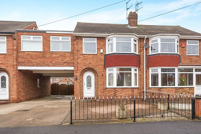 Thumbnail Semi-detached house for sale in Sherwood Drive, Hull