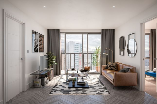 Thumbnail Flat for sale in Apartment 203 Burgess House, City Centre