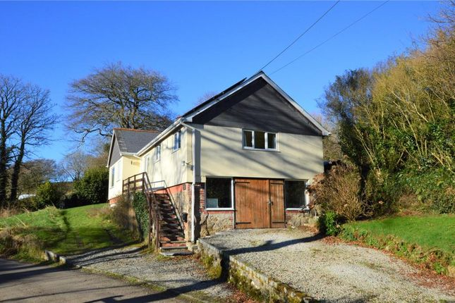 Thumbnail Detached bungalow for sale in Draynes, Liskeard, Cornwall