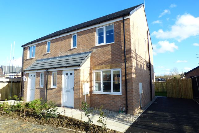 Thumbnail Semi-detached house to rent in New Build, Friarwood Park, Pontefract