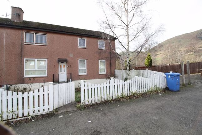 Thumbnail Flat for sale in Fir Park, Tillicoultry