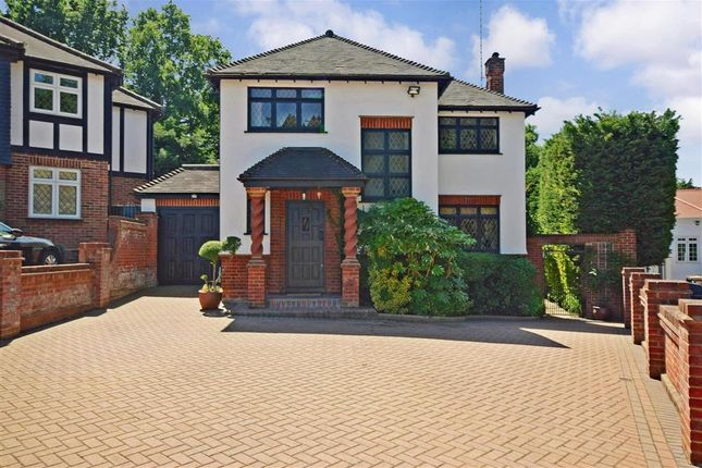 Thumbnail Detached house for sale in Barnaby Way, Chigwell, Essex