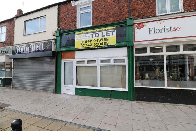 Retail premises to let in Station Road, Billingham